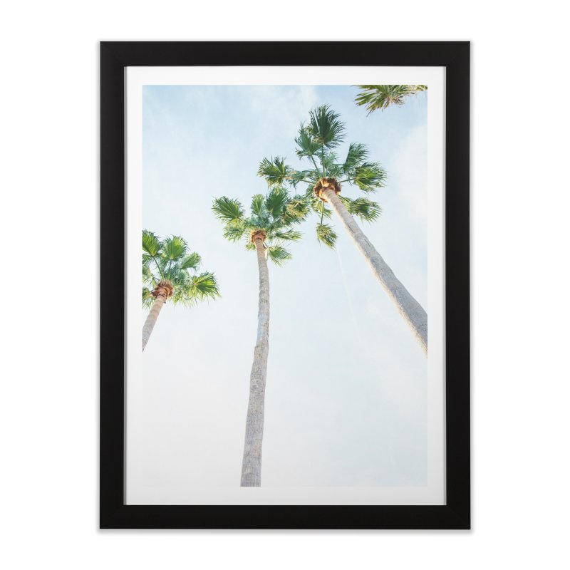 PALM TREES | ST. PETE, FL Home Framed Fine Art Print by I Love the Burg Swag