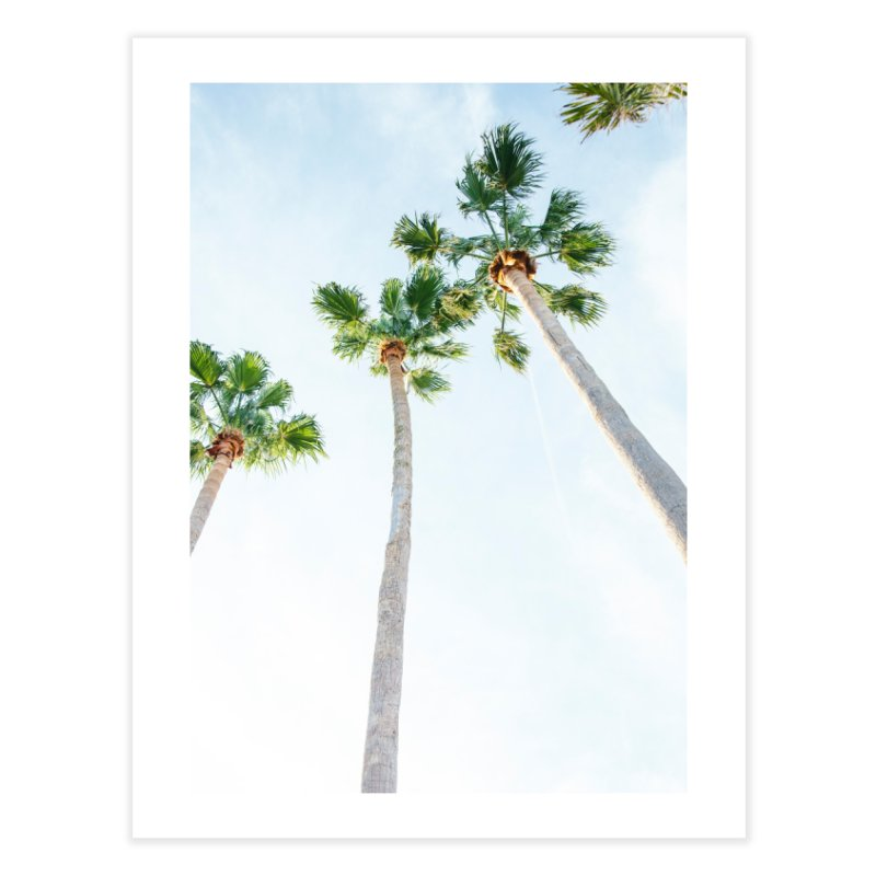 PALM TREES | ST. PETE, FL Home Fine Art Print by I Love the Burg Swag