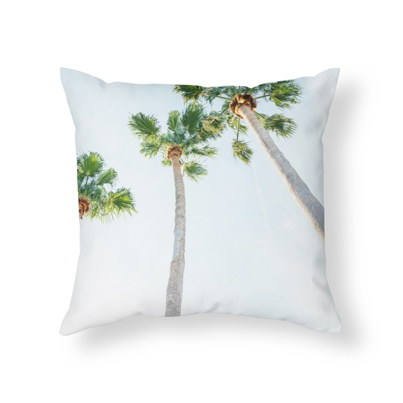 PALM TREES | ST. PETE, FL Home Throw Pillow by I Love the Burg Swag