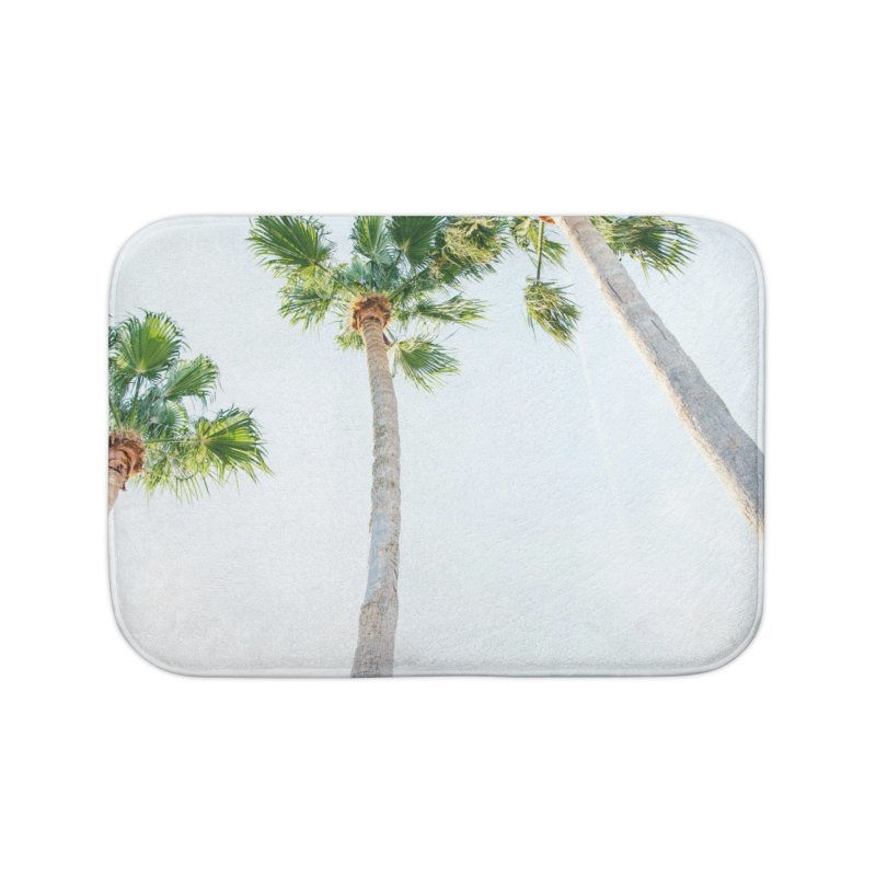 PALM TREES | ST. PETE, FL Home Bath Mat by I Love the Burg Swag