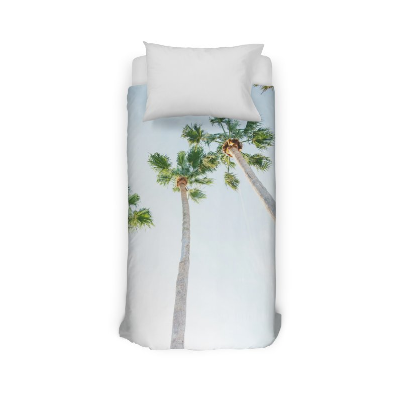 PALM TREES | ST. PETE, FL Home Duvet by I Love the Burg Swag