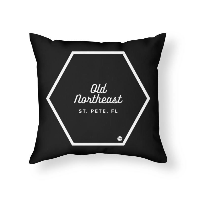 OLD NORTHEAST Home Throw Pillow by I Love the Burg Swag