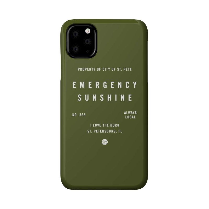 Emergency Sunshine Accessories Phone Case by I Love the Burg Swag