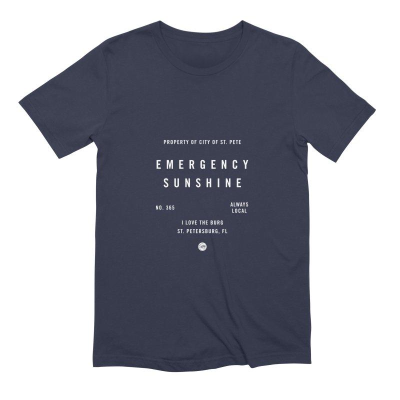 Emergency Sunshine Men's Extra Soft T-Shirt by I Love the Burg Swag