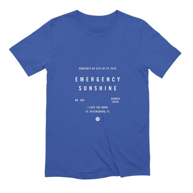 Emergency Sunshine Men's T-Shirt by I Love the Burg Swag