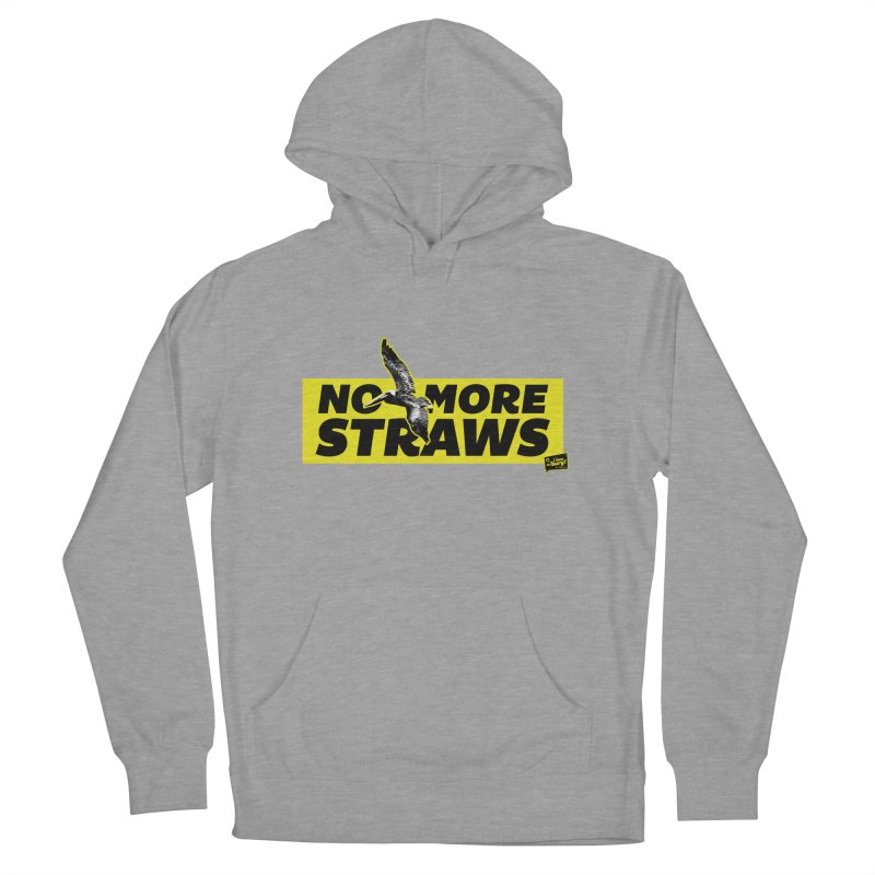 NO MORE STRAWS // In The Burg Women's Pullover Hoody by I Love the Burg Swag