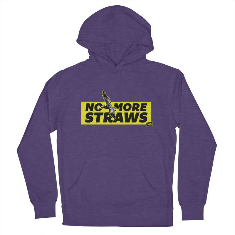 NO MORE STRAWS // In The Burg Men's Pullover Hoody by I Love the Burg Swag