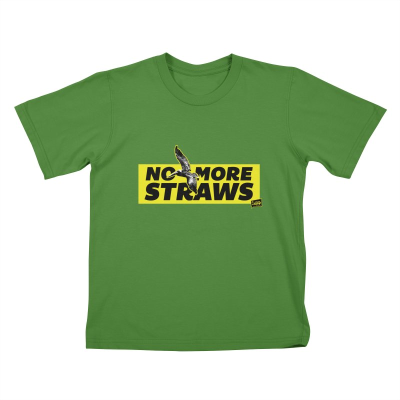 NO MORE STRAWS // In The Burg Kids T-Shirt by I Love the Burg Swag