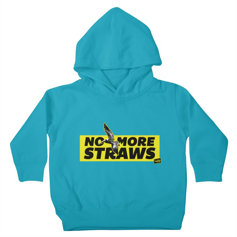 NO MORE STRAWS // In The Burg Kids Toddler Pullover Hoody by I Love the Burg Swag