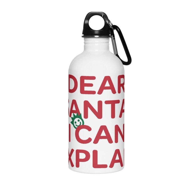 Dear Santa, I Can Explain... Accessories Water Bottle by I Love the Burg Swag