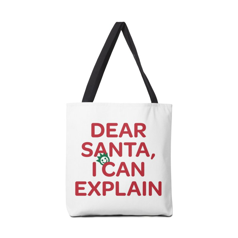Dear Santa, I Can Explain... Accessories Bag by I Love the Burg Swag