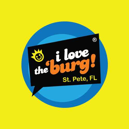 I Love the Burg Swag Logo