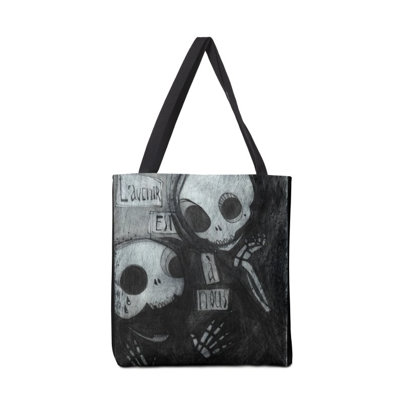 L'avenir Accessories Tote Bag Bag by ilustramar's Artist Shop