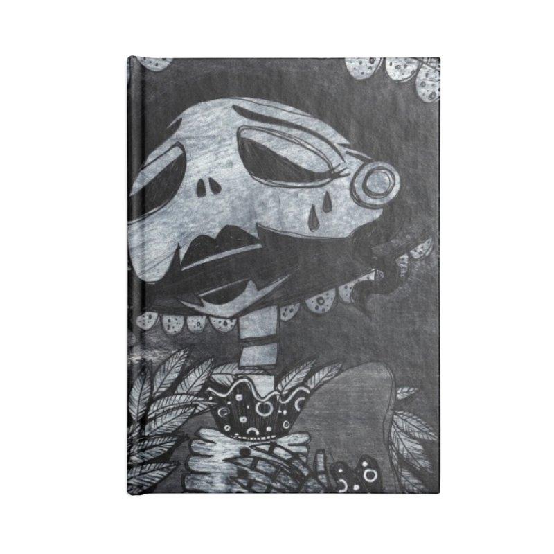 Llorona Accessories Blank Journal Notebook by ilustramar's Artist Shop