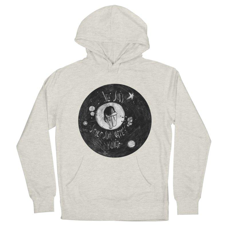 Planète (circle) Men's Pullover Hoody by ilustramar's Artist Shop