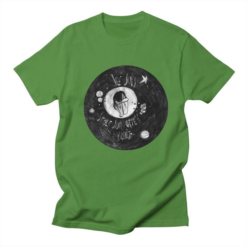 Planète (circle) Men's T-Shirt by ilustramar's Artist Shop