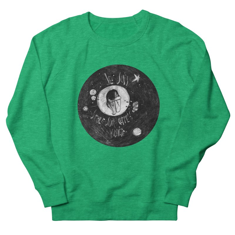 Planète (circle) Women's Sweatshirt by ilustramar's Artist Shop