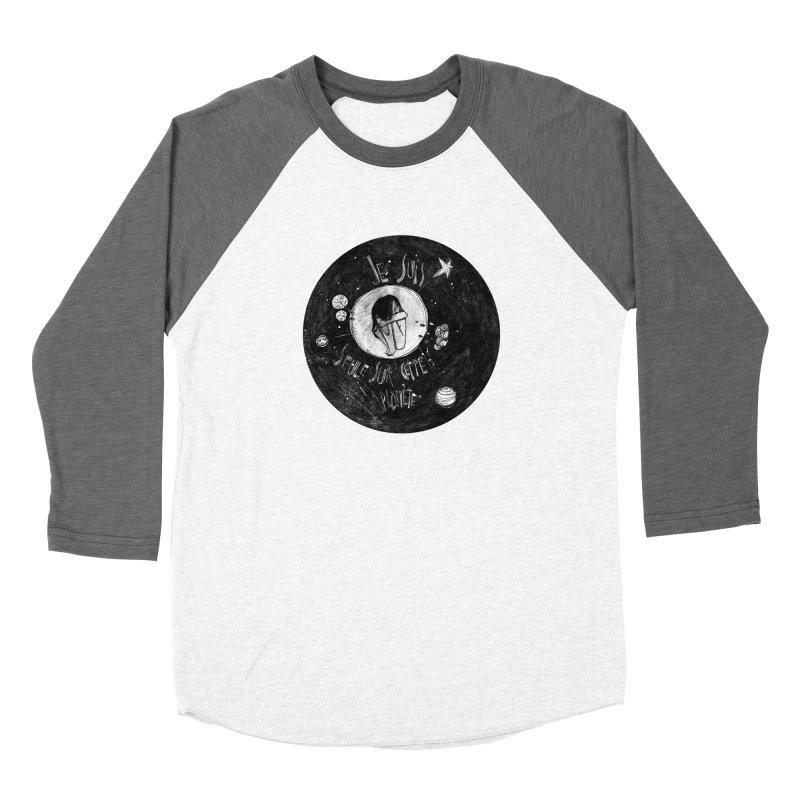 Planète (circle) Women's Longsleeve T-Shirt by ilustramar's Artist Shop