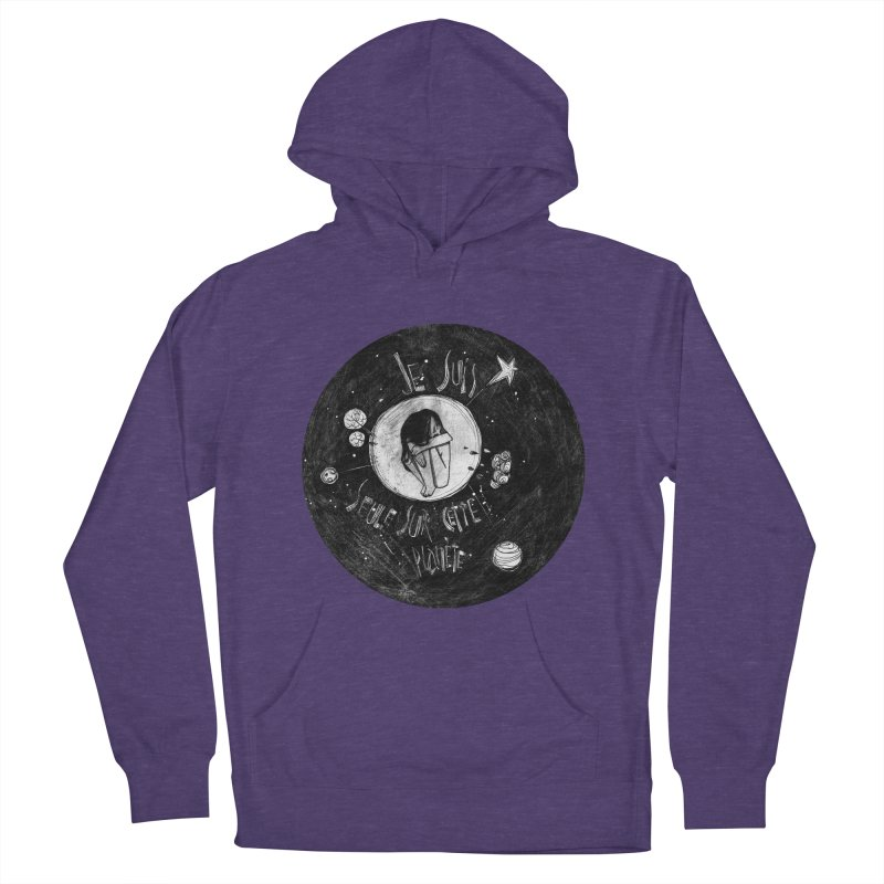 Planète (circle) Men's Pullover Hoody by ilustramar's Artist Shop