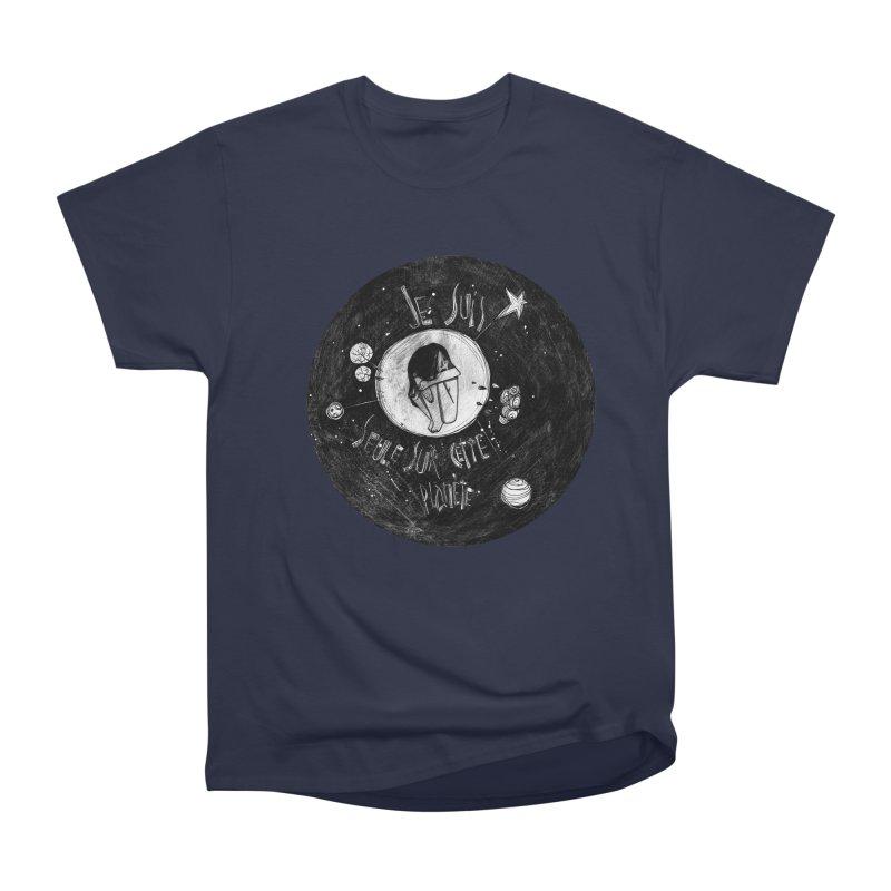 Planète (circle) Men's Classic T-Shirt by ilustramar's Artist Shop
