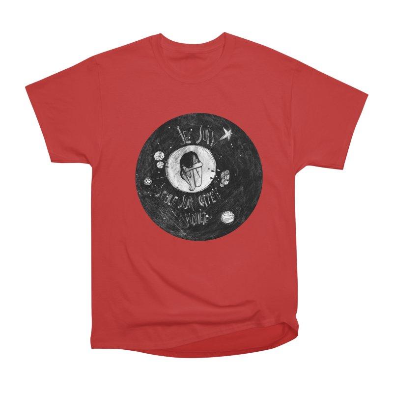 Planète (circle) Women's Heavyweight Unisex T-Shirt by ilustramar's Artist Shop