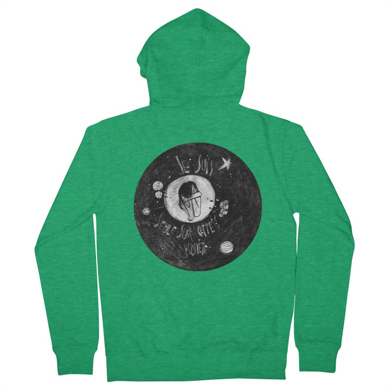 Planète (circle) Women's Zip-Up Hoody by ilustramar's Artist Shop