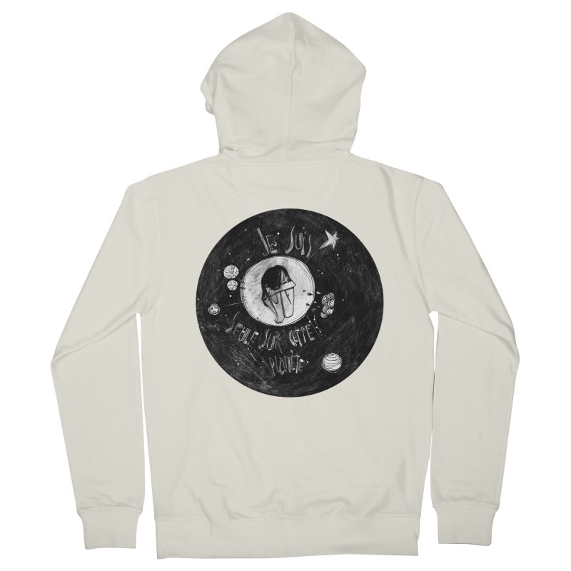 Planète (circle) Men's Zip-Up Hoody by ilustramar's Artist Shop