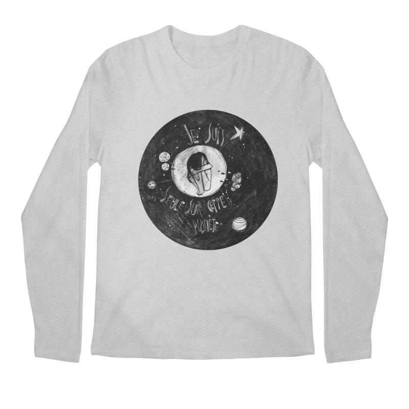 Planète (circle) Men's Regular Longsleeve T-Shirt by ilustramar's Artist Shop