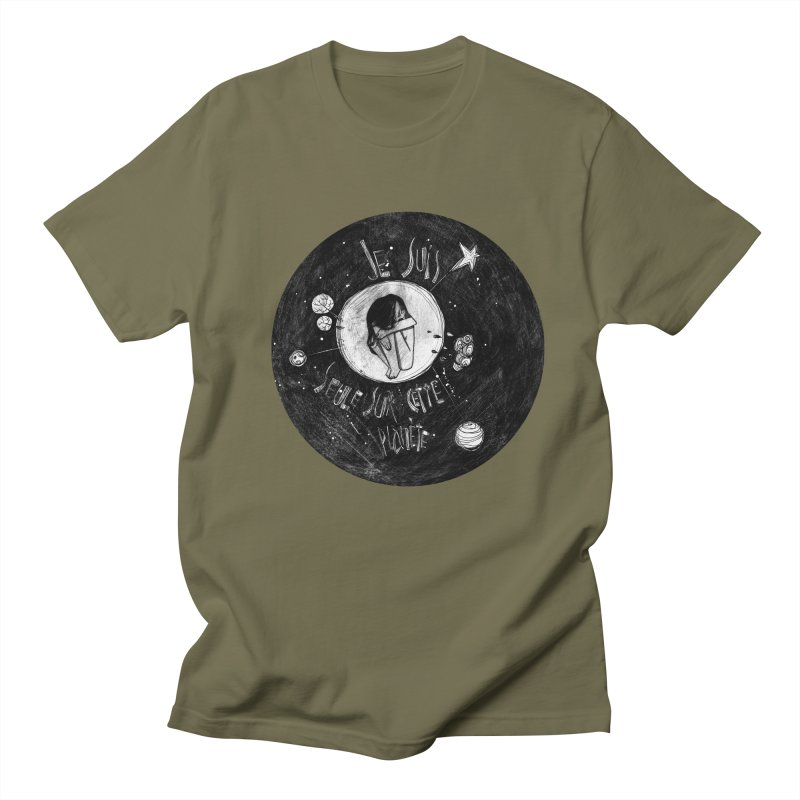 Planète (circle) Men's T-shirt by ilustramar's Artist Shop
