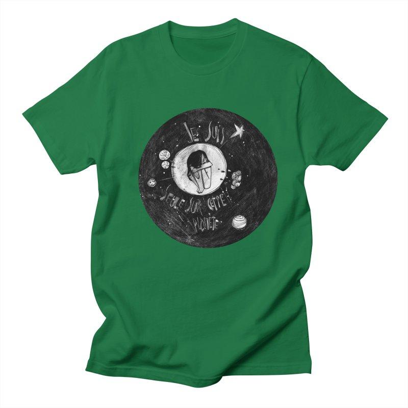 Planète (circle) Men's Regular T-Shirt by ilustramar's Artist Shop