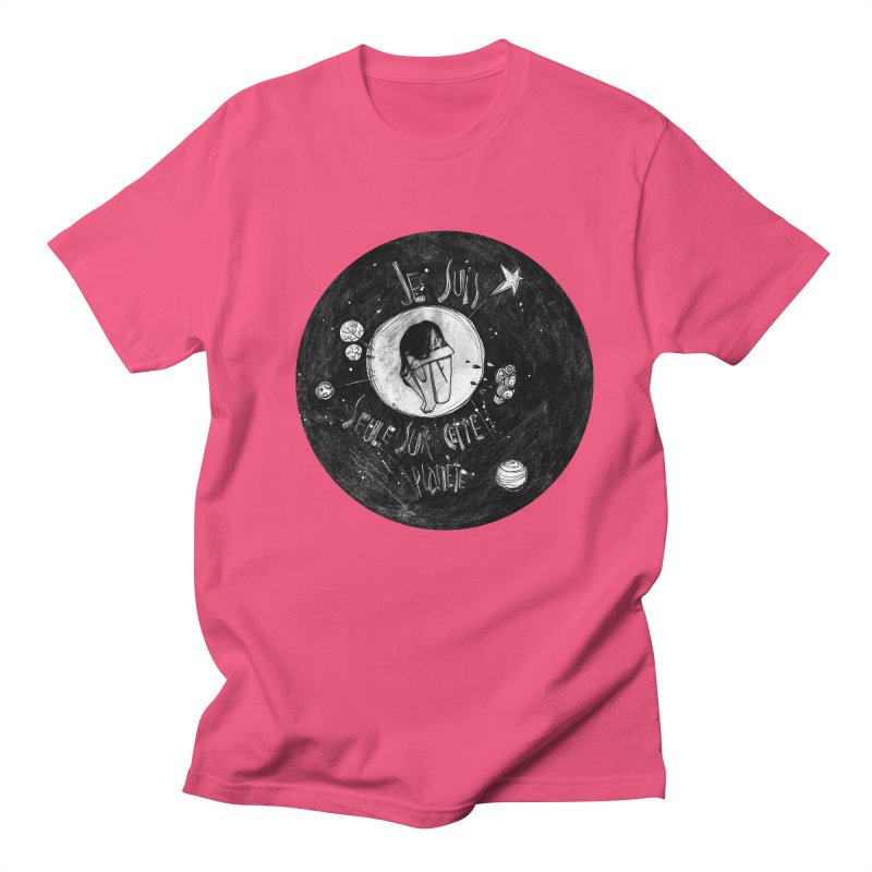 Planète (circle) Women's Regular Unisex T-Shirt by ilustramar's Artist Shop