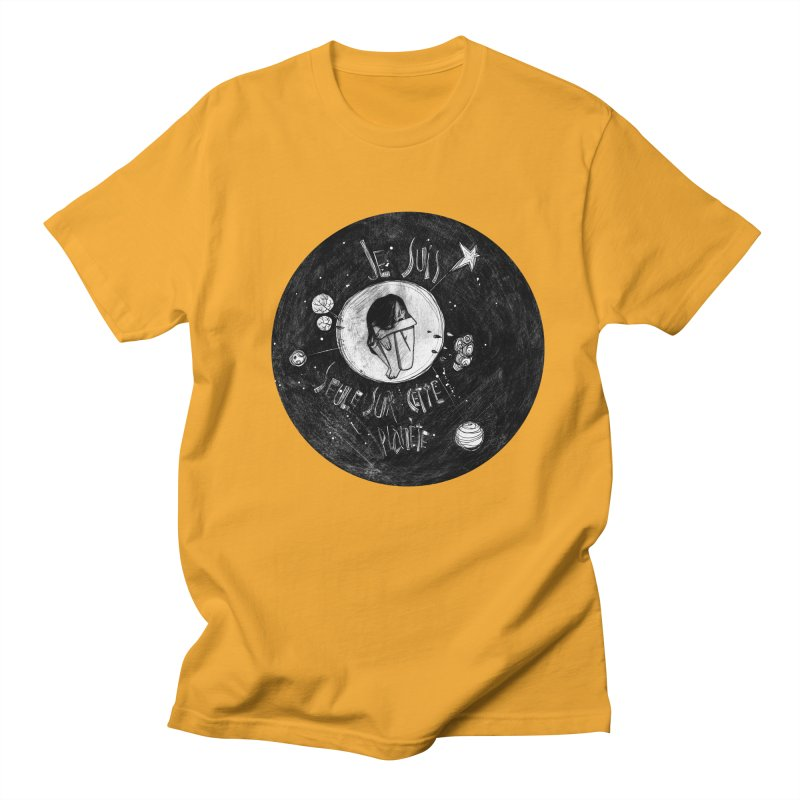 Planète (circle) Women's Regular Unisex T-Shirt by ilustramar's Artist Shop