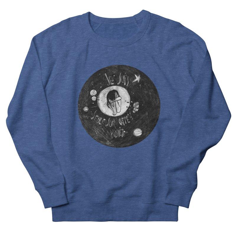 Planète (circle) Women's Sweatshirt by ilustramar's Artist Shop