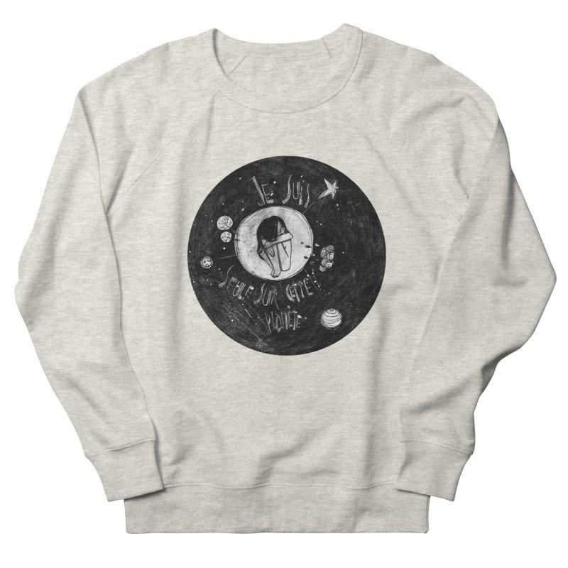 Planète (circle) Men's Sweatshirt by ilustramar's Artist Shop