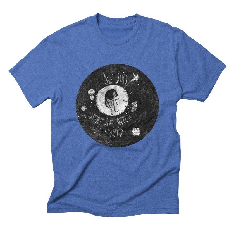 Planète (circle) Men's Triblend T-Shirt by ilustramar's Artist Shop
