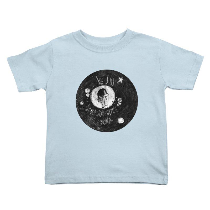 Planète (circle) Kids Toddler T-Shirt by ilustramar's Artist Shop