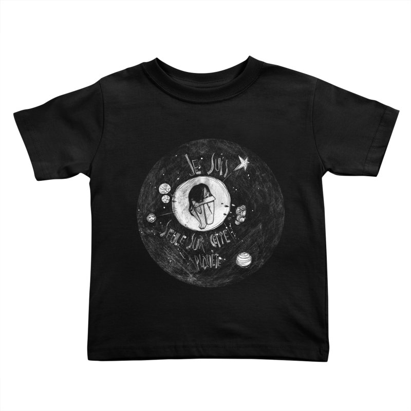 Planète (circle) Kids Toddler T-Shirt by ilustramar's Artist Shop