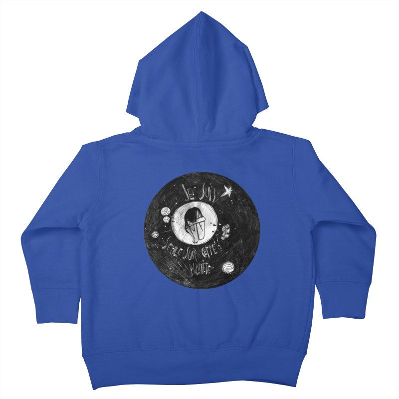 Planète (circle) Kids Toddler Zip-Up Hoody by ilustramar's Artist Shop
