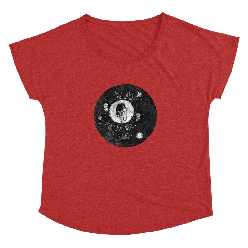 Planète (circle) Women's Dolman by ilustramar's Artist Shop