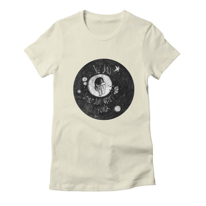 Planète (circle) Women's T-Shirt by ilustramar's Artist Shop