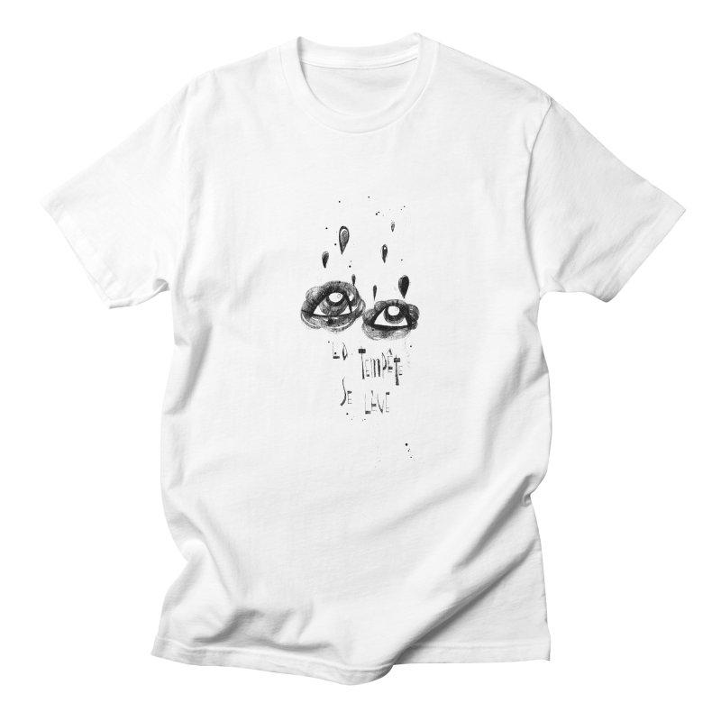 Tempête Men's T-Shirt by ilustramar's Artist Shop