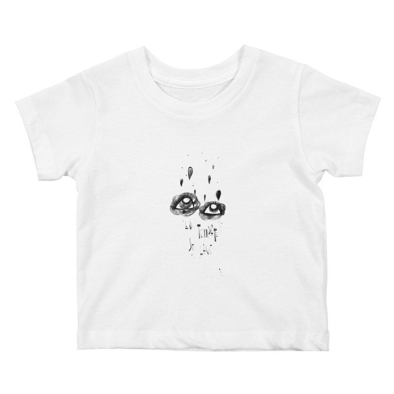 Tempête Kids Baby T-Shirt by ilustramar's Artist Shop