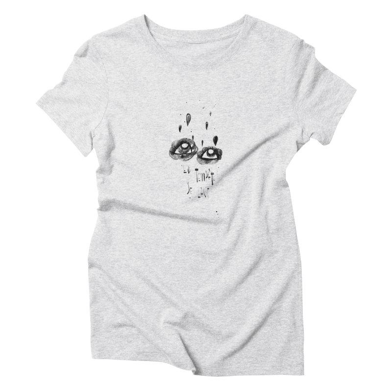 Tempête Women's T-Shirt by ilustramar's Artist Shop