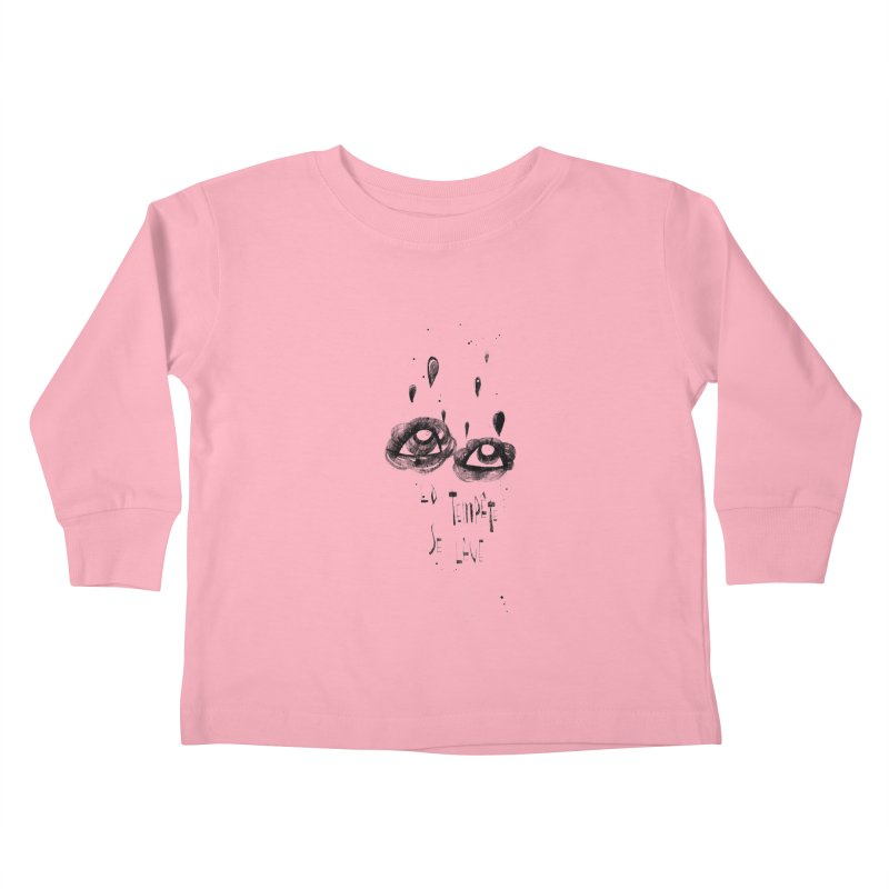 Tempête Kids Toddler Longsleeve T-Shirt by ilustramar's Artist Shop