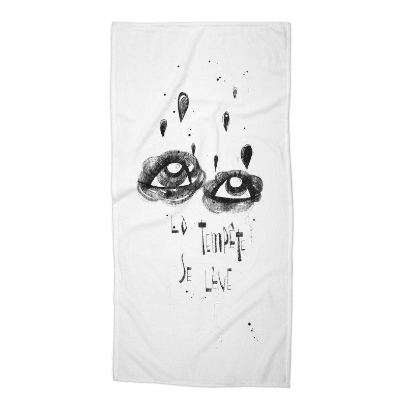 Tempête Accessories Beach Towel by ilustramar's Artist Shop