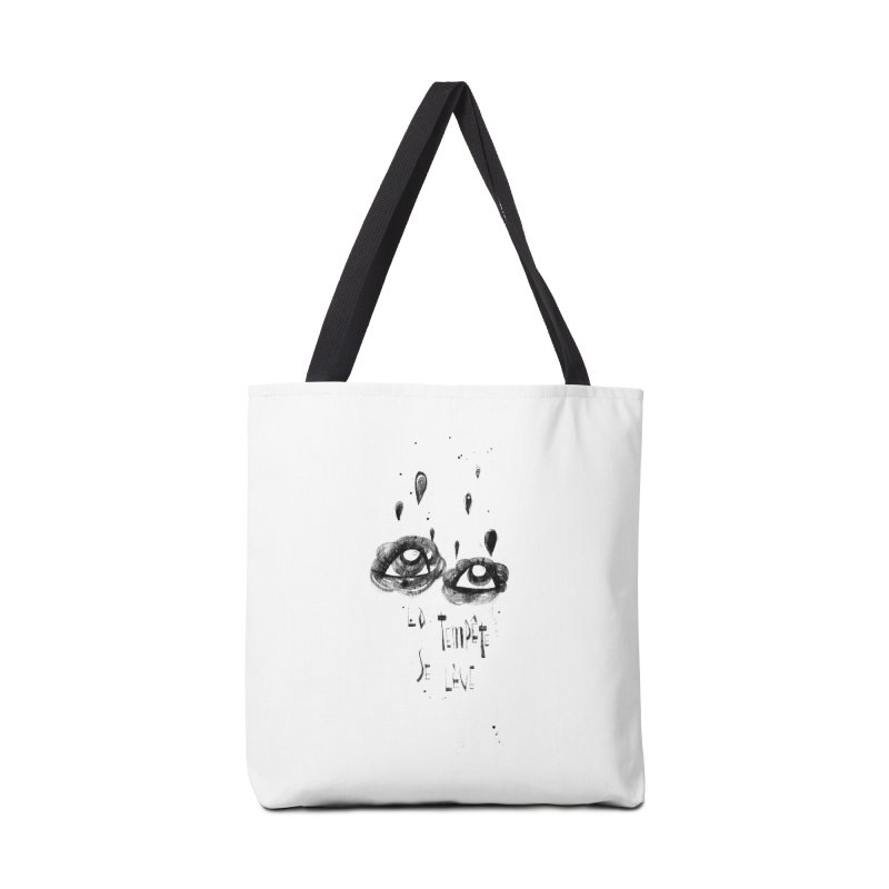 Tempête Accessories Tote Bag Bag by ilustramar's Artist Shop