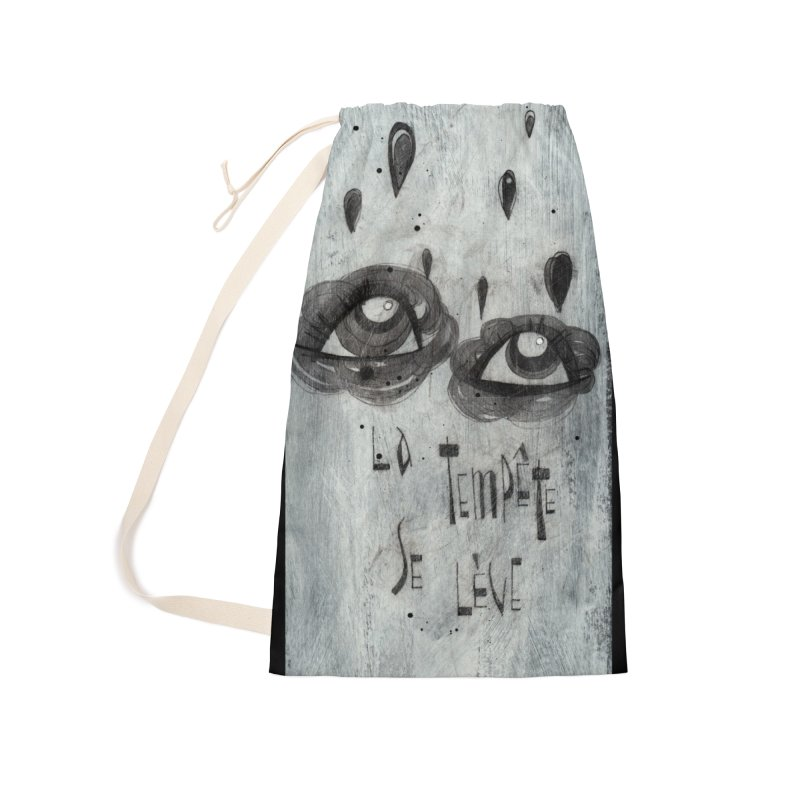 Tempête (background) Accessories Bag by ilustramar's Artist Shop