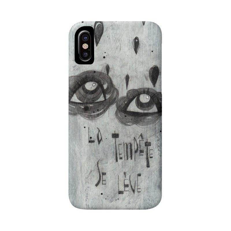 Tempête (background) Accessories Phone Case by ilustramar's Artist Shop