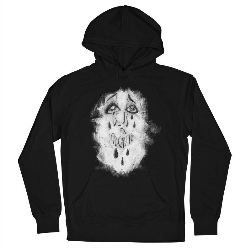Deus Ex Machina (black) Men's Pullover Hoody by ilustramar's Artist Shop