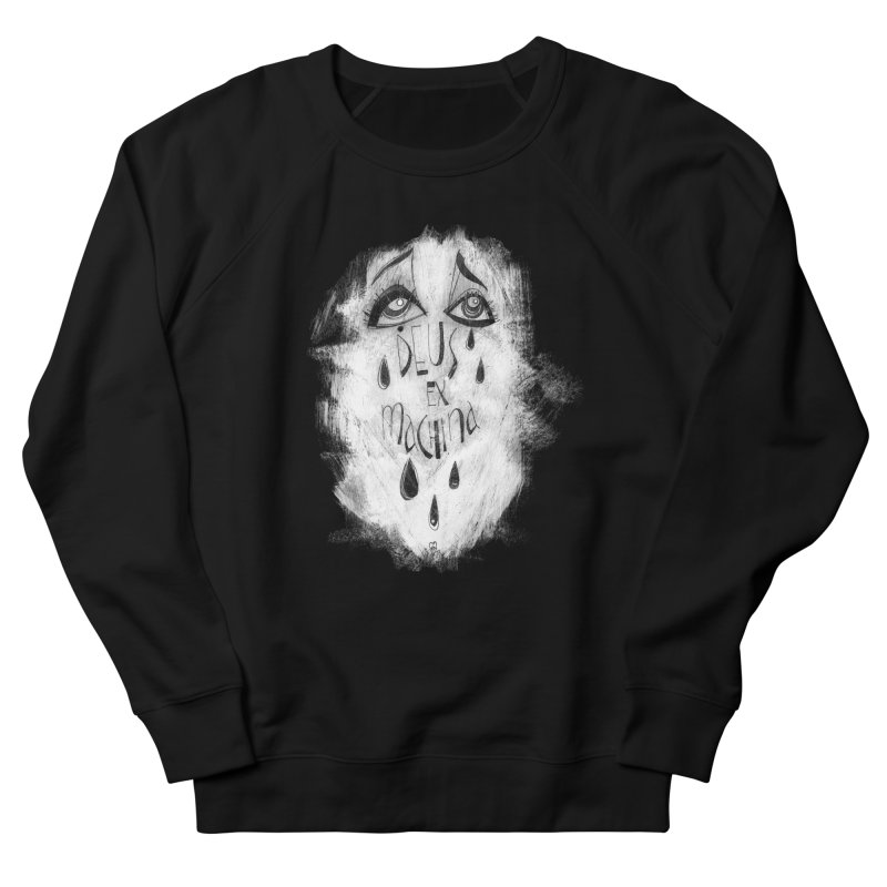 Deus Ex Machina (black) Women's Sweatshirt by ilustramar's Artist Shop
